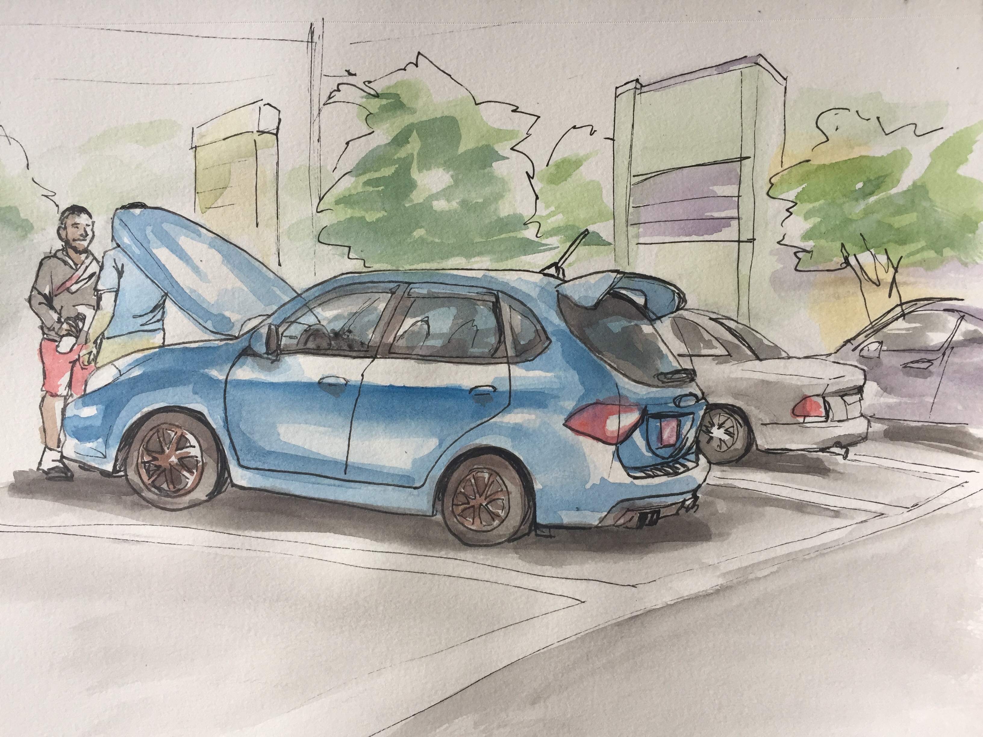 Car Show Sketching It Out - Car show in orlando 2018